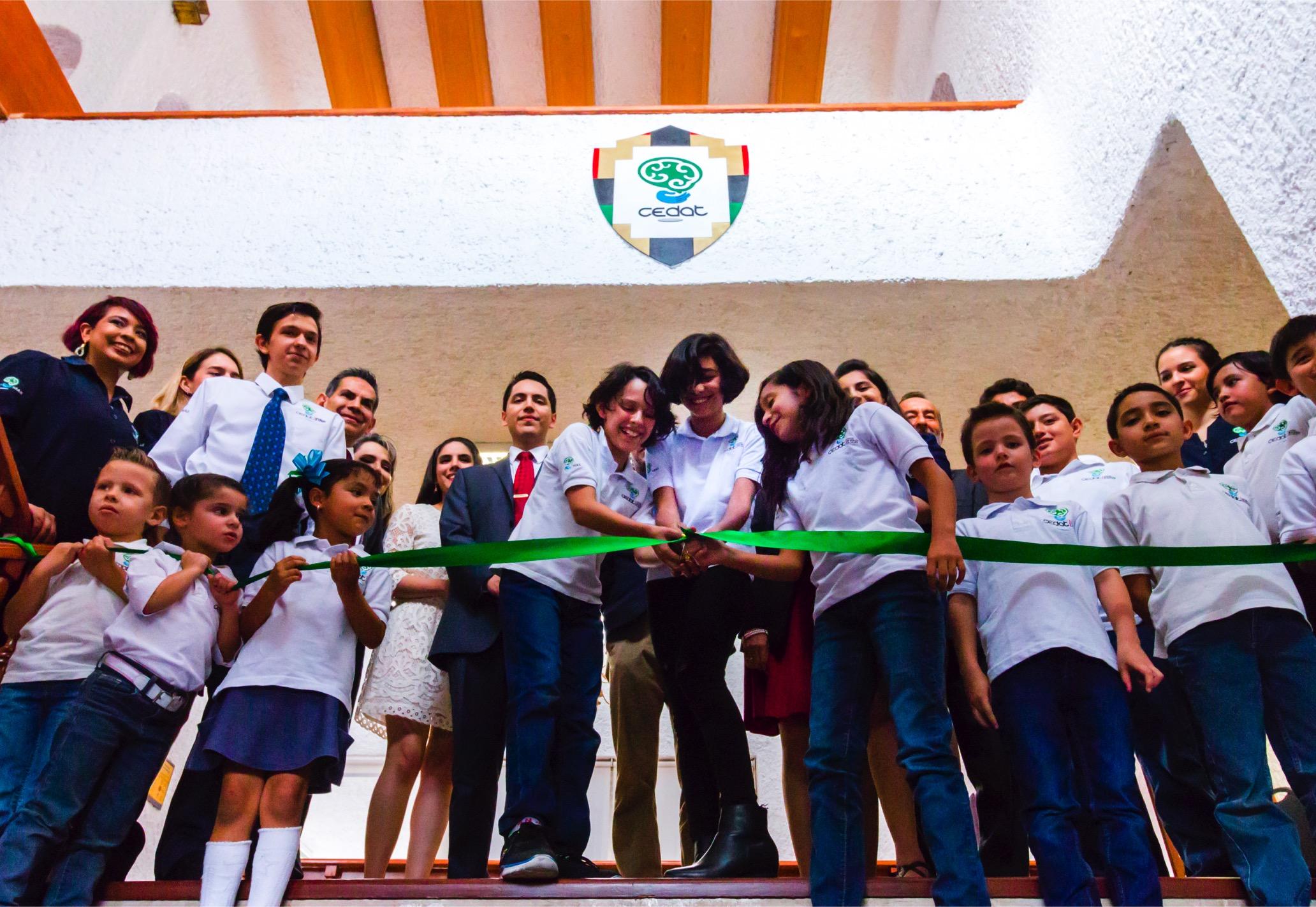 Corte listón CEDAT Guadalajara estreno instalaciones